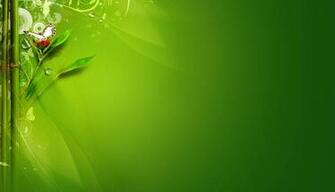 Green Morning Twitter Background