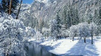 Wallpaper Winter Scenes   Wallpapers HD Fine