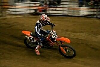 ktm min cross race corner fans motocross wallpaper