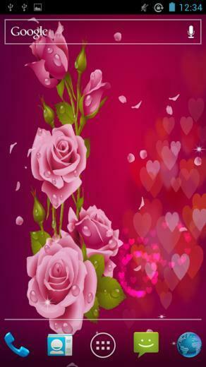Love Rose Live Wallpaper   Android Apps on Google Play