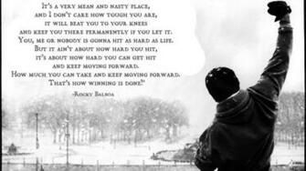 Rocky   Rocky Balboa Movie Quote HD Wallpaper Background Image