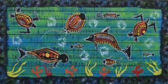 Sea Animals Border The Border Surrounding The Sea