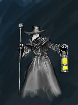 Plague doctor by Felarn