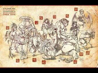 Traditional Chinese Wallpaper Chinese zodiac wallpaper by