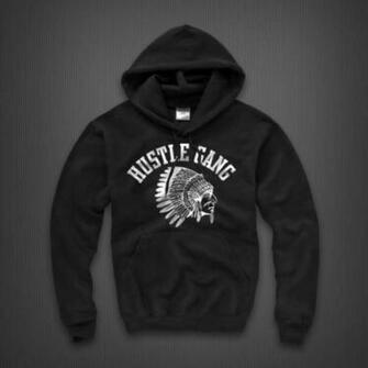 Grand Hustle Logo Hustle gang hoodie by ti