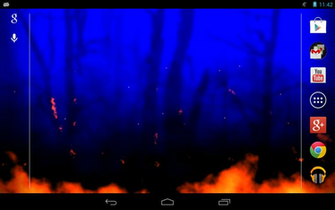 wallpaper and make this Blue flame live wallpaper for your desktop