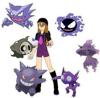 Ghost Type Pokemon Ghost type pokemon trainer