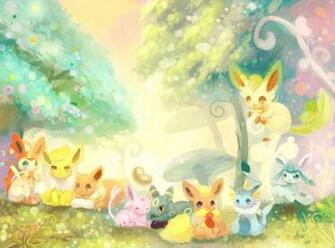 eevee espeon flareon ginger ale huwahuwaryuo glaceon jolteon