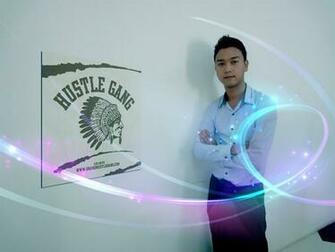 hustle gang wall poster by thuya14