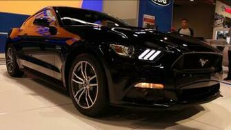 2015 Ford Mustang GT Black   OC Auto Show 2014