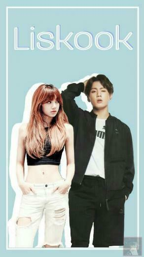 Wallpaper BTS Blackpink Liskook Lisa Lalisa Jungkook