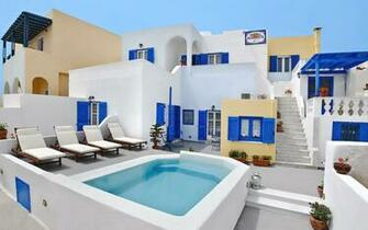 Santorini Hotel Afrodete Fira Hotels Santorini Rooms