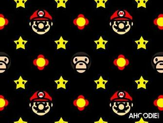 mario to milo new star flowers all over wallpaper awesome ahoodie4
