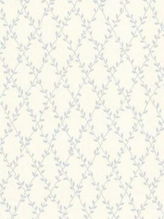 Blue 487 68832 Janine Trellis Mini Wallpaper   Contemporary