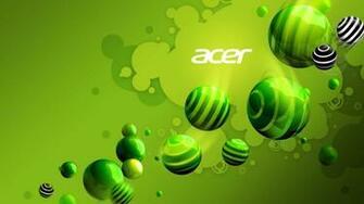 1366x768 Acer Aspire Green desktop PC and Mac wallpaper