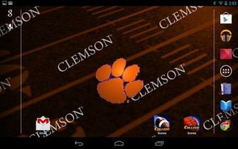 Clemson Live Wallpaper HD Screenshot 11