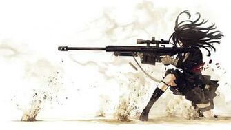 girl sniper Wallpaper Background 4897