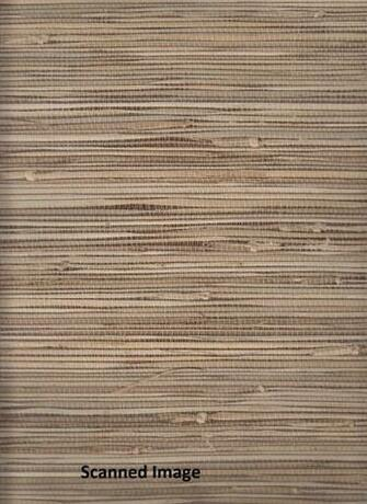 Details about 89472 Grasscloth Wallpaper Textured Sidewall Brown