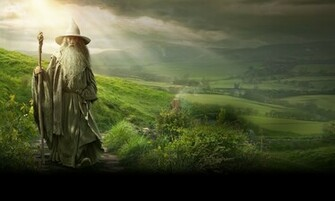 The Hobbit An Unexpected Journey Gandalf Wallpaper c Warner Bros