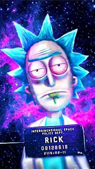 Download Rick and Morty wallpapers to your cell phone