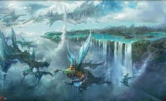 Wallpapers For Final Fantasy Landscape Wallpaper Hd