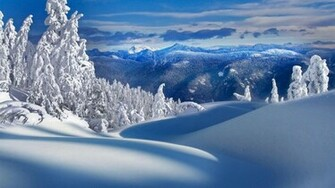 Beautiful Wallpapers Snowfall Wallpaper