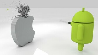 android vs apple funny wallpapers android vs apple funny wallpapers