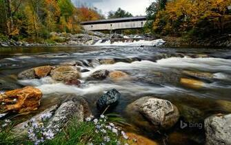 Ammonoosuc River In New Hampshire HD Wallpaper Background Image