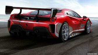 2020 Ferrari 488 Challenge Evo   Rear Three Quarter HD Wallpaper 2