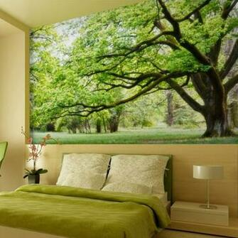 Photo wallpaper 3d wall customized modern design Mural green tv