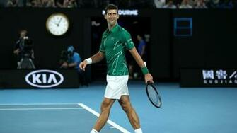 Australian Open 2020 mens results Novak Djokovic beats Roger