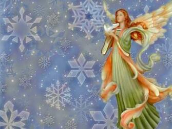 christmas desktop wallpaper Christmas Angel Wallpapers