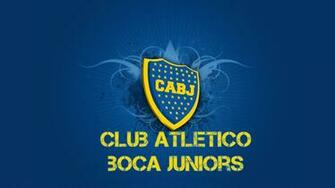 Boca Juniors Football Team Logo HD Wallpaper   Wallpaper Stream
