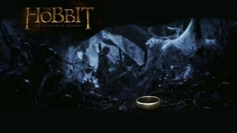 The Hobbit   The Ring Wallpaper   The Hobbit Wallpaper 33042240