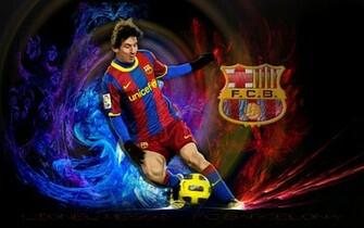 Lionel Messi FC Barcelona Wallpaper   Lionel Andres Messi Wallpaper