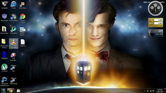 Doctor Who Desktop Theme by aries927