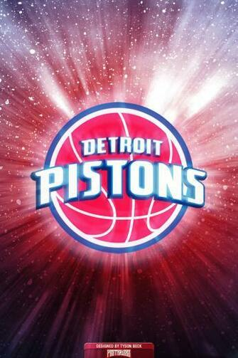 Detroit Pistons Iphone Wallpaper Detroit pistons logo wallpaper