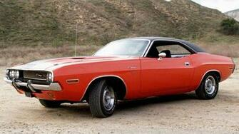 Widescreen vintage cars classic car dodge challenger wallpaper HQ
