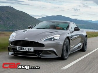 Aston Martin Vanquish 2015 Wallpaper