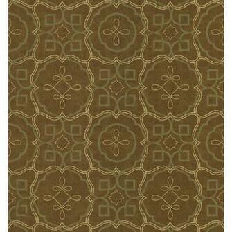 6844 Zoomed Brewster Wallcovering Spanish Tile Wallpaper