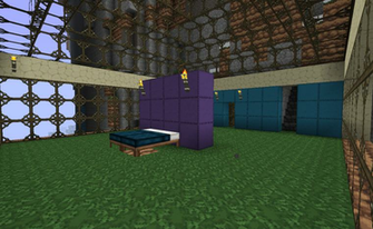 Vacation Keep Bedroom by kyidyl minecraft