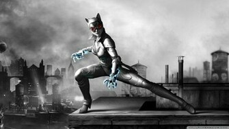 Batman Arkham City Armored Edition Catwomen Wallpaper 1920x1080 Batman