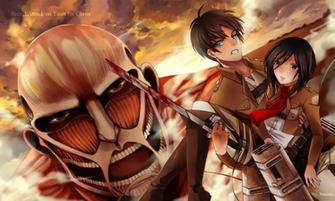 Attack on Titan Wallpaper Wallpaper iPhone