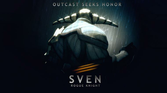 Sven Rogue Knight DotA 2 Wallpaper Dota 2 Wallpaper