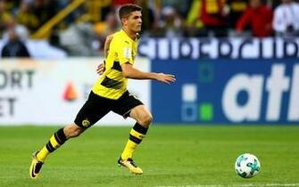 Download wallpapers Christian Pulisic Borussia Dortmund soccer