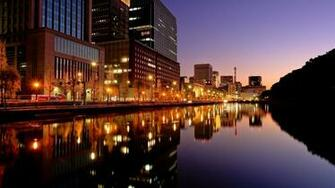Tokyo City Night Lights 1600 x 900 Download Close