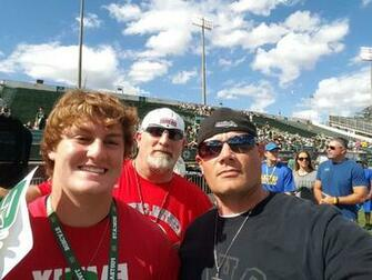 Football Camps and Visits   OU J Dustin Dad