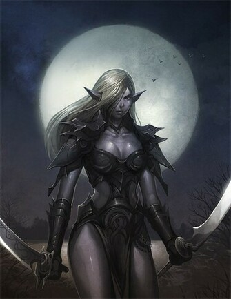 Dark Elf by nJoo