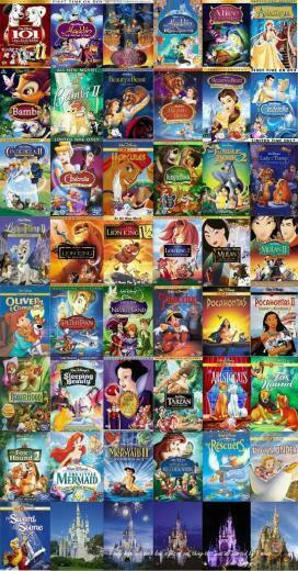Dvd Collage Background   Disney Dvd Collage Wallpaper for Desktop