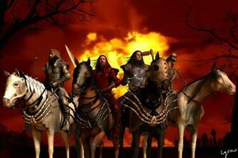 North Texas Drifter Four Horsemen of the Apocalypse